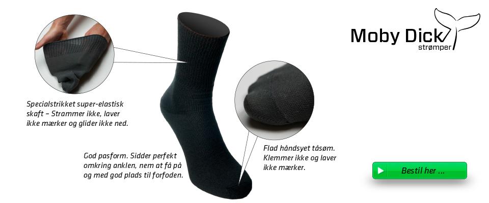 moby dick sokker